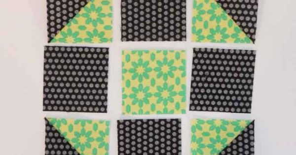 How To Make Precise Points On Your Shoo Fly And Star Quilt Blocks