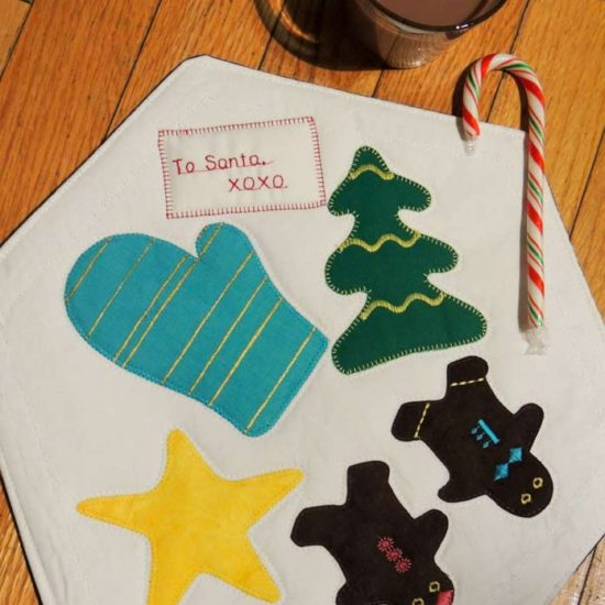 Tabletopper of treats for Santa