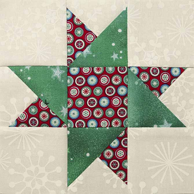 Star of Hope quilt block