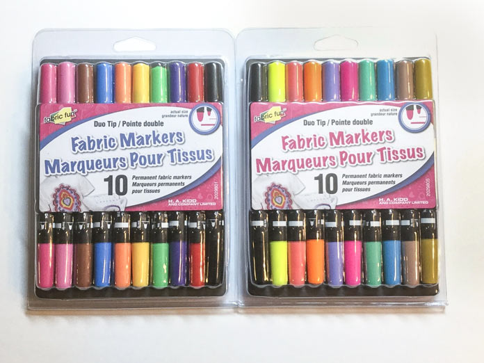 Duo Tip Fabric Markers, so much fun to work with for many projects!