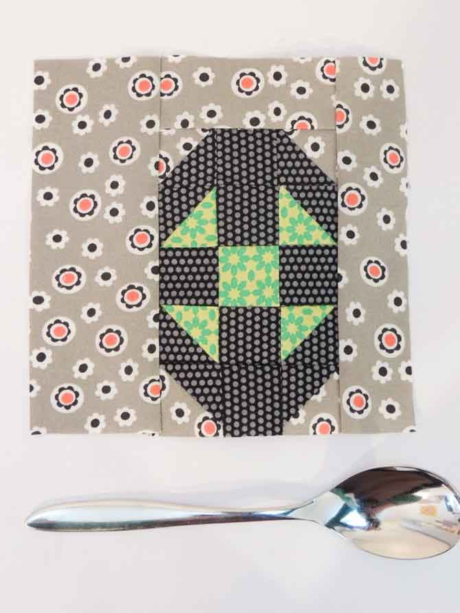 shoofly spoon pieced spoon patchwork