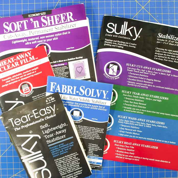 Variety of Sulky stabilizers
