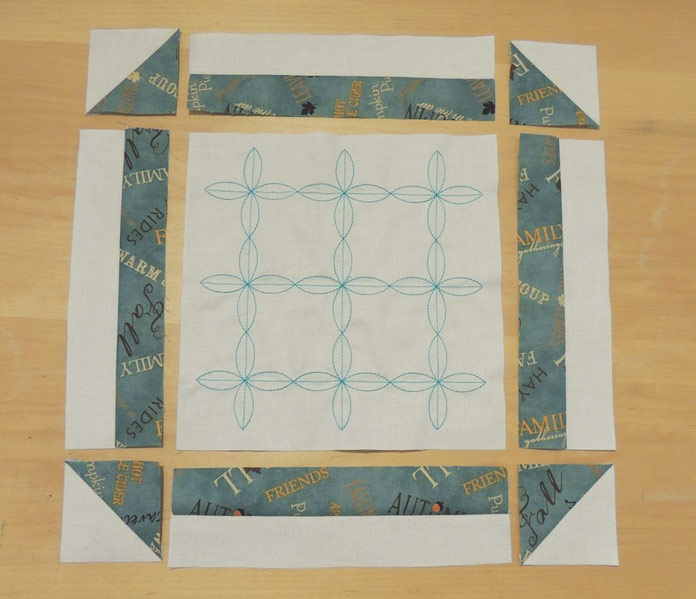 Tabletopper rows assembly layout