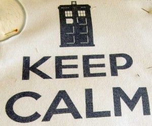 Keep calm! There's a way to preserve a special T-shirt.
