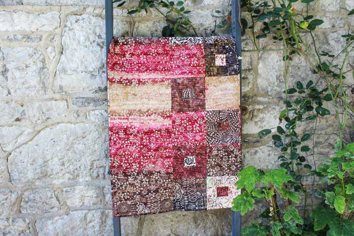 Falling in love with Banyan Batiks Kayana autumn fabric collection