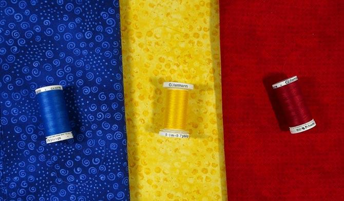 Gütermann polyester thread to match each fabric