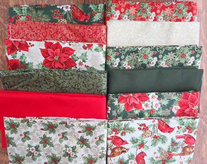 'Tis the Season fabric from Northcott