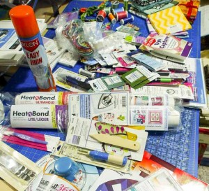 The tools and notions found at my favorite fabric and quilt shops!