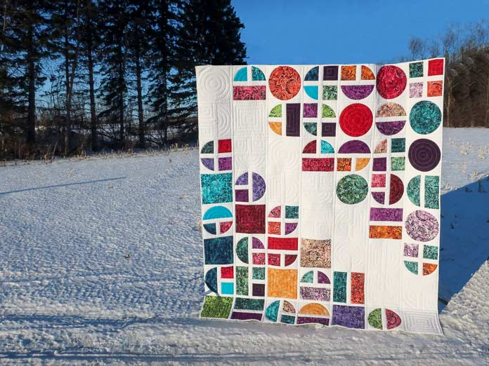 Square Peg—Round Hole quilt