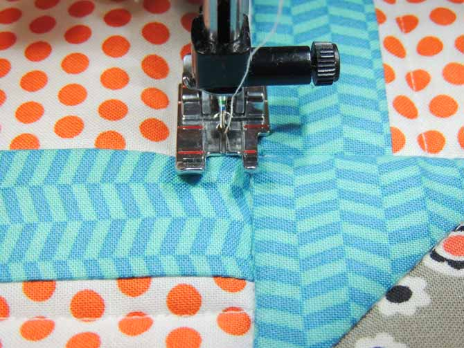 quilting foot guide lines accurate quilting consistent distance