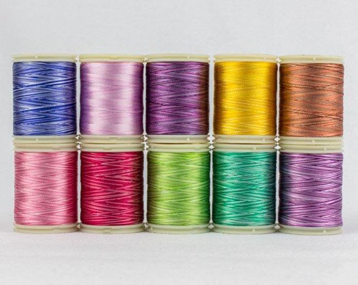 WonderFil's variegated thread pack B