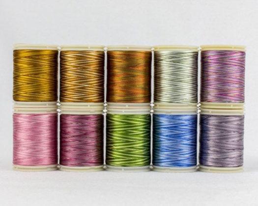 WonderFil's variegated thread pack C