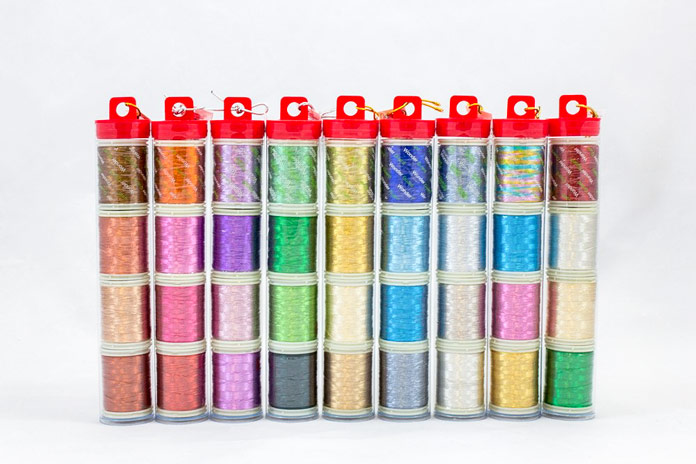 WonderFil's Spotlite thread in metallic tubes